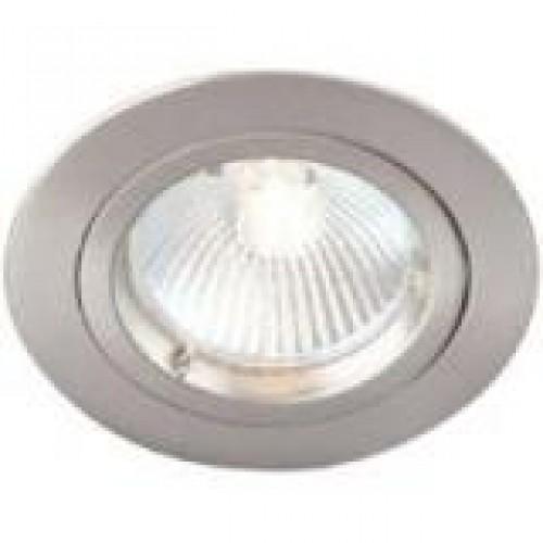 Robus inbouwspot halogeen/LED vast aluminium 230V GU10