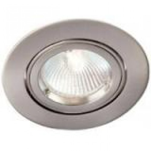 Robus inbouwspot 96mm LED of Halogeen kantelbaar aluminium 230V