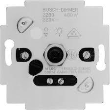 Busch-Jaeger 2200U-503 dimmer gloeilamp 400W