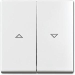 Busch-Jaeger Balance toets jalouzie schakelaar alpin wit