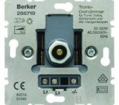 Berker tronic dimmer tbv LED en elektronische trafo
