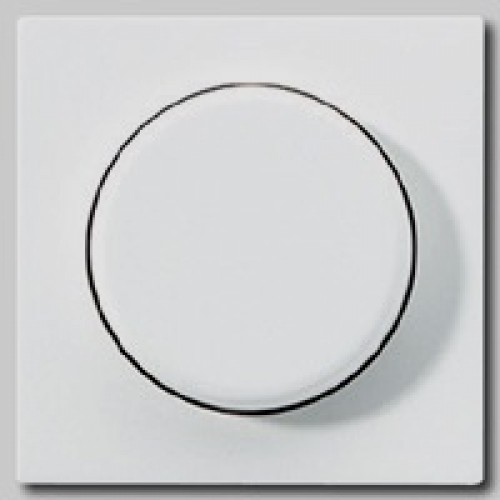 Jung dimmerknop tbv dimmer wit(creme)