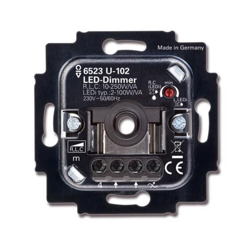 Busch-Jaeger 6523U-102 LED dimmer 100VA