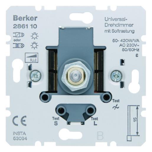 Berker dimmer universeel 420W