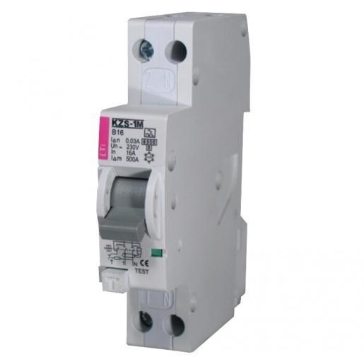 ETI aardlekautomaat 1P+N B16A 30mA