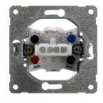 Peha wisselschakelaar met controlelamp inbouw