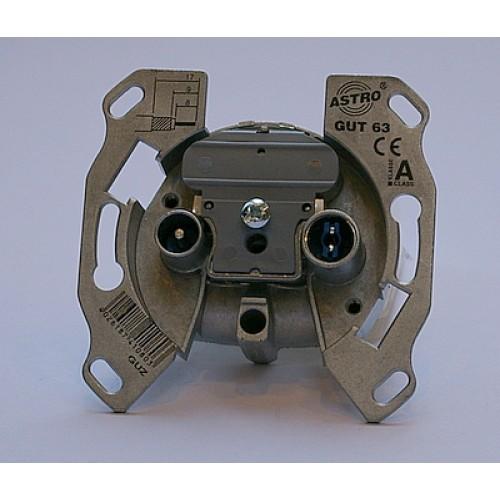 Astro cai wandcontactdoos in/uit-R160424(R.160422)
