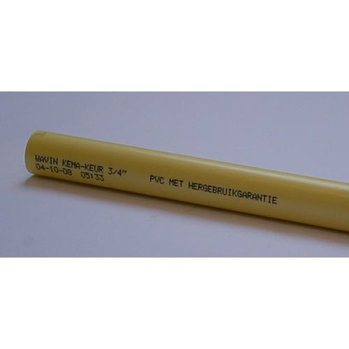 Wavin buis 3/4 creme low friction per 100 meter