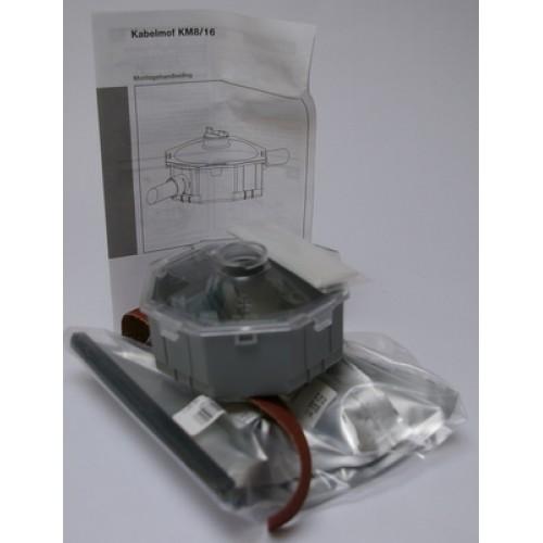 Haf KM8/16 kabelmof inclusief giethars