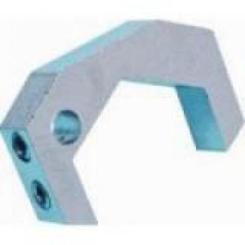 Aardklem voor design radiator 27mm