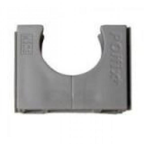 150st. Pipelife Polfix VSV slagvast 16mm donker grijs RAL7037