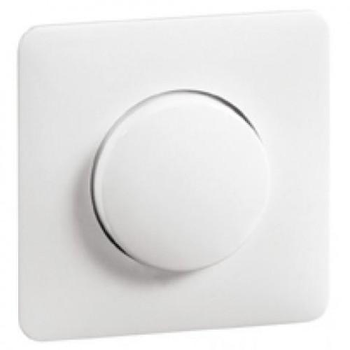Peha afdekking met knop tbv dimmers levend wit