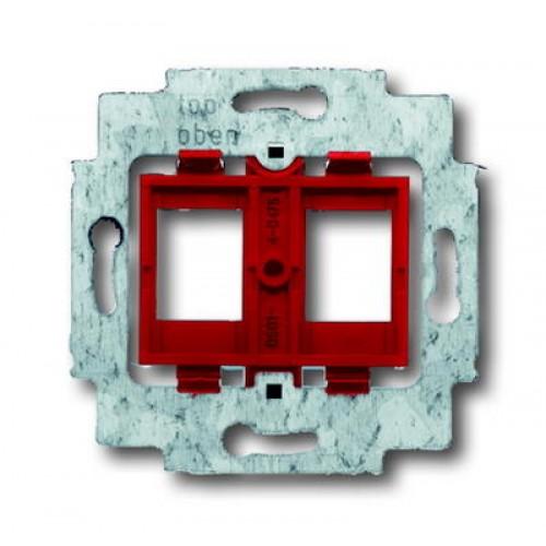Draagring tbv 2xRJ45 connector