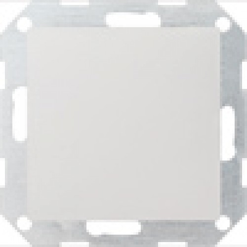 Gira blindplaat centraalplaat zuiverwit glanzend