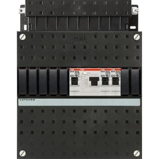 Haf HAD3201-20 3-groepen 1-aardlek 2P 40A 22x22cm