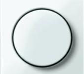 M-smart afdekking met knop tbv dimmers polarwit