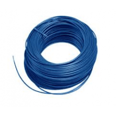 Soepel montagesnoer 6mm2 blauw
