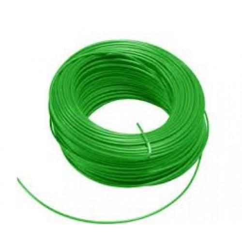 Soepel montagesnoer 6mm2 geel-groen