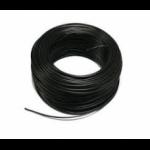 Soepel montagesnoer 6mm2 zwart