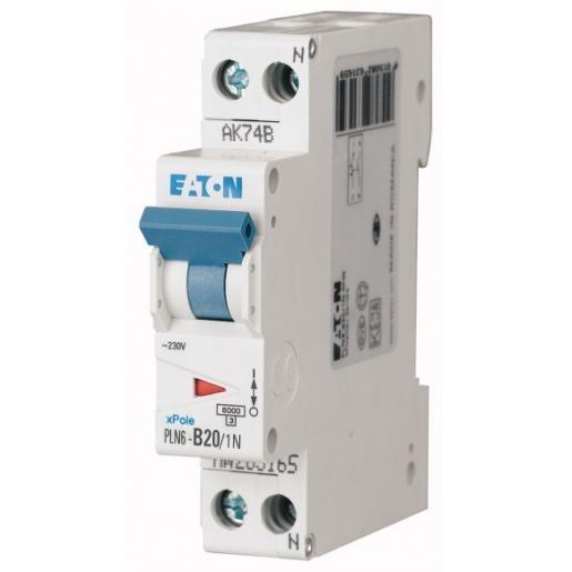 Eaton Installatieautomaat 1P+N C20A 263175