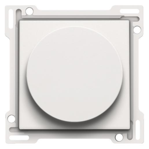 Niko centraalplaat 3-standenschakelaar wit