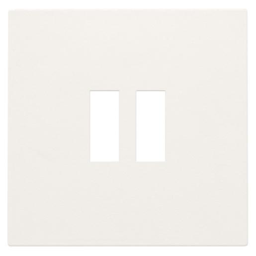 Niko centraalplaat voor USB-lader wit