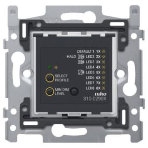 Niko universele/LED drukknopdimmer inbouw