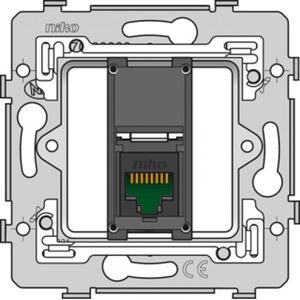 Niko 1v RJ45 cat.6 data wandcontactdoos