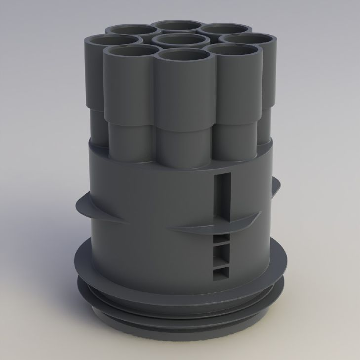 Attema CA70R Centraaldoos 16/19 mm met tape