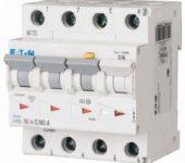 Eaton mRB4 aardlekautomaat 4p 20A 0,03A C