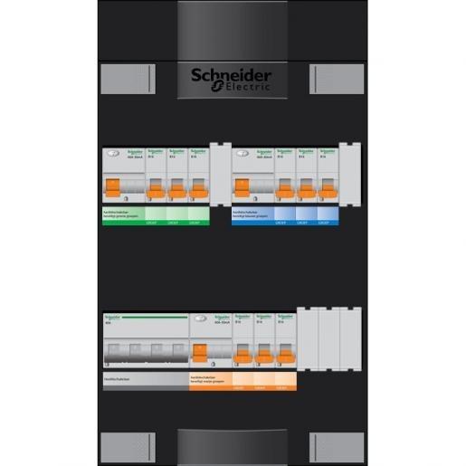 Schneider ADVG2222224H3 6-groeps meterkast