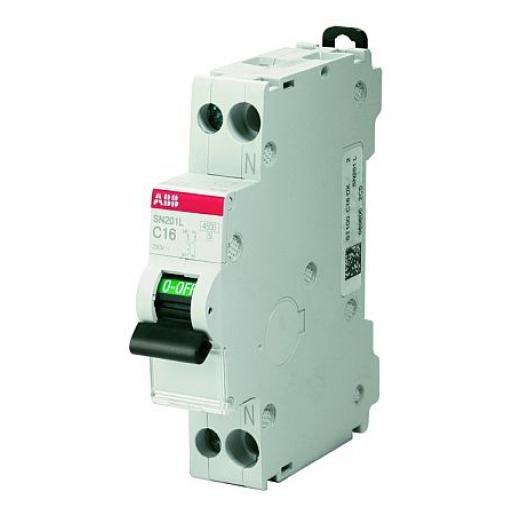 ABB Haf installatieautomaat 1P+N B16A