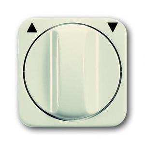 busch jaeger reflex si centraalplaat draaigreep wit creme elektro kopen. Black Bedroom Furniture Sets. Home Design Ideas