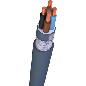 TKF VO-YMVKAS Dca 4x6mm2 grondkabel Grijs per meter