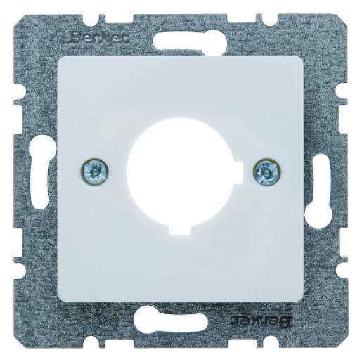 Berker centraalplaat voor meld- en regeltoestel 22,5mm