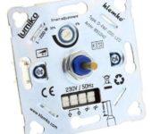 Klemko LED universele dimmer 200W voor alle schakelmateriaal