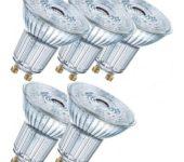 Osram dimbare LED PAR16 5,9W 927 GU10 36gr warmwit 5-pack