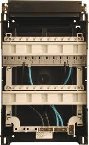 Haf HLD33B/1 lege kast 33x22cm inclusief din-railen 1-fase busboard