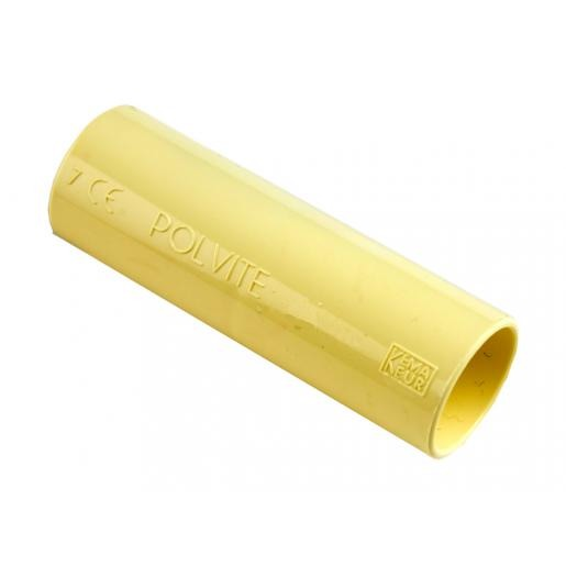 Pipelife Polvite pvc sok 19mm creme