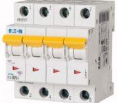 Eaton installatieautomaat 4p 25A B-kar