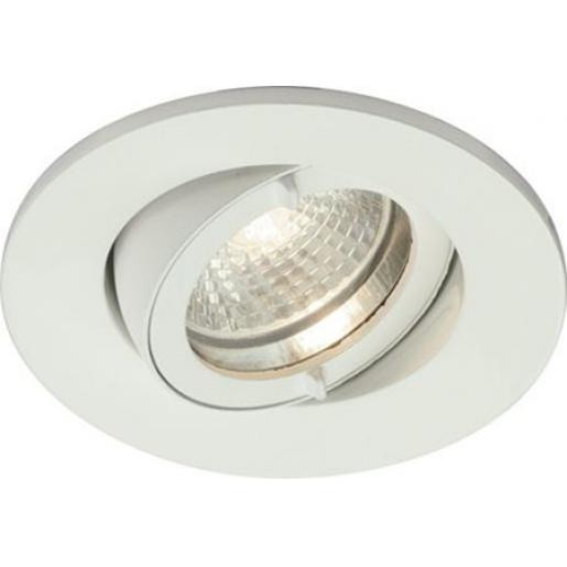 Lumiance inset swing IP44 indoor GU10 wit