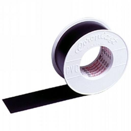 Coroplast 302 zelfklevende tape 15mmx25m PVC Zwart