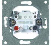 Peha Pulsdrukker inbouw, 10 A, 250 V 1-polig met maakcontact