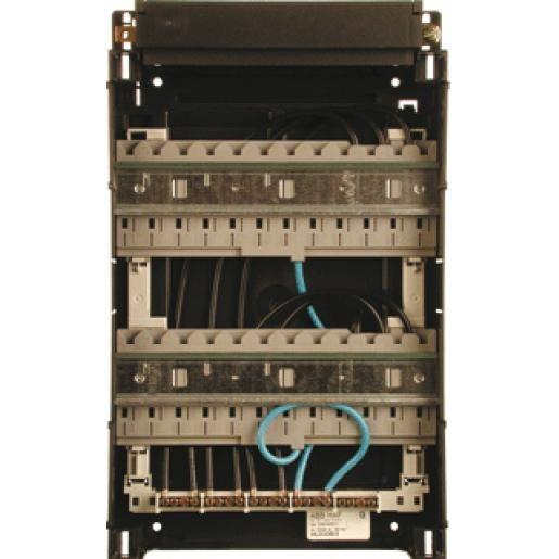 Haf HLD33B/3 lege kast 33x22cm inclusief din-railen 3-fasen busboard