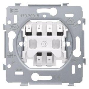 Niko pulsdrukker tbv wisselschakeling LED drukknopdimmer