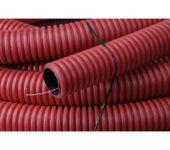 Pipelife flexibele buis rood 50mmx50mtr inclusief nylontrekkoord