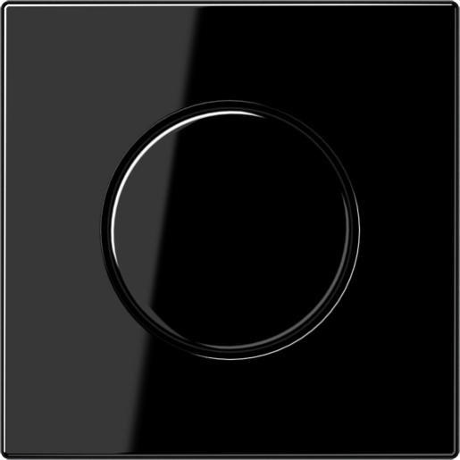 Jung LS990 dimmerknop tbv dimmer zwart