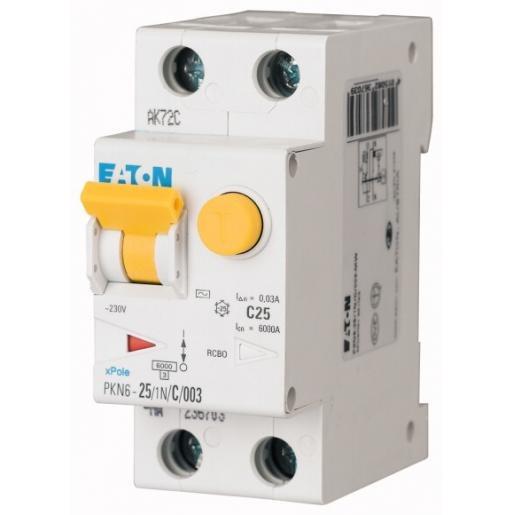 aton Din modulair aardlekautomaat 2p 20a 0,3a c