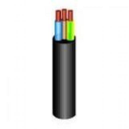 Bohm VMVL Eca mantelleiding 3G0,75mm² Zwart 100mtr