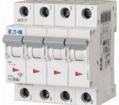Eaton xPole Installatieautomaat C karakteristiek 16A 4p incl nul 4TE
